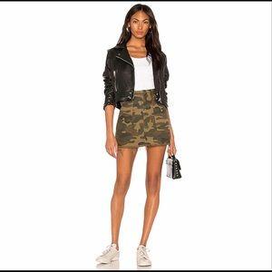 Blank NYC Camo Utility Skirt NWT